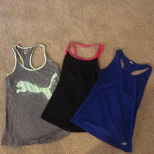 Random Workout Tank Tops